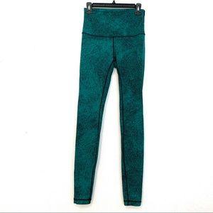 lululemon athletica Pants - Lululemon Wunder Under Pant Hi-Rise Jacquard C32